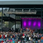 Sound and Lights at The  Les Schwab Amphitheater in Bend, OR